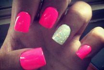 Debs Mexico summer nails