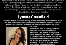 Featured quotes, articles, and interviews by Lynette Greenfield Author