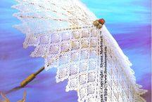 Зонт и веер ... Дамские штучки - Umbrellas and fans / Одна из историй о происхождении зонта уверяет, что причиной его появления стала… любовь. Веер (из нем. Fächer) — небольшое, как правило, складное опахало для создания потока воздуха, овевающего лицо, шею и плечи. Складные веера были завезены в Европу в начале XVII века сначала иезуитами, а затем и торговцами...