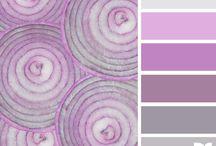 Color Inspirations. Сочетание цветов / с сайта http://design-seeds.com/ и ему подобных