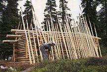 casa de tronco