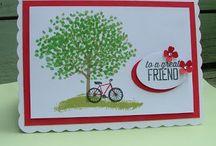 Stampin Up Sheltering Tree cards / Stampin Up stamp set Sheltering Tree