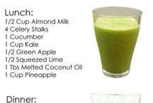 Healthy DETOX and Wt L Recipes / a variety of Detox recipes with juicing and or foods