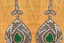 Hurrem Sultan Earrings Turkish silver