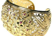 Gold Cuff Bracelets and Bangles