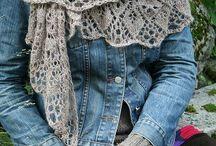 шарфы, шали,палантины
