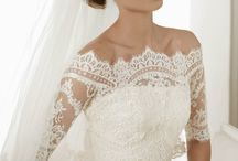 Lace and tulle...