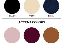 Wardrobe color palette