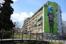 Street Art / #SokakSanatı #StreetArt #Graffiti #DuvarGraffitileri #BinaGraffitileri