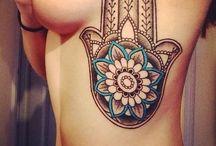 Rib Tattoo Girls
