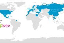 Bezochte landen