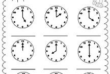 Teaching (Time) / Teaching Kindergarten Time