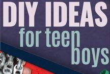 Teenage boy activities