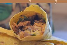 Wraps and calzones