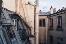 rooftop/window view