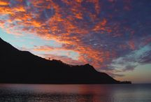 Sunset / Sunset in French Polynesia