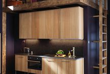 Oak Effect Kitchens / A truly outstanding contemporary style kitchen with a warm oak effect finish.