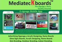 mediateckboards fire signages catalog