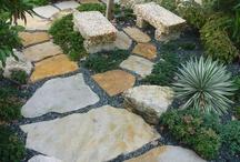 Garden Design by Waterfalls Fountains & Gardens Inc.