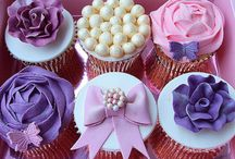 Wedding Cupcakes / Featuring wedding cupcakes, which are a popular trend for weddings.