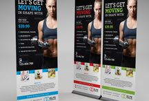 Personal Trainer Roll Up Banner Ideas