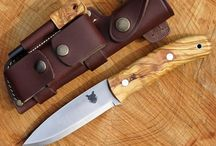 TBS Boar Special Edition / We have created another variant of the Boar Bushcraft Knife. It is handled with Spanish Olive Wood and comes with a matching firesteel and a Fallkniven DC4 sharpening stone.  It looks fantastic and has been very well received, if it is successful we will try and source some more and roll it out as an option for other models. Olive Wood is a brilliant wood to use for a knife as it is naturally oily and weatherproof and is used in so many different kitchen and food applications.