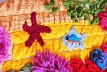 Freeform Crochet - Фриформ / Crochet - Вязание крючком
