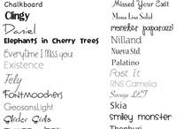07. Lettertype ♥ Fonts