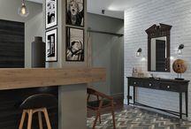 лофт кухня