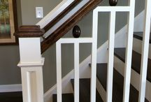 Stair Parts / Custom newels, wrought iron balusters, wooden spindles, hand railings, treads, and anything else you can imagine a staircase could have. We have it all at Vision Stairways & Millwork. http://visionstairwaysandmillwork.com/stair-parts/