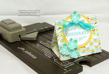 Punch board Geschenketüte / gift bag