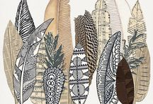 Zentangle scrapbooking products / Digiscrapping supplies with zentangle elements,