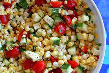 salads / by Amy Barrett Perieda