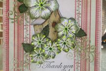 Heartfelt creations / Antique layered with flowers