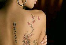 tatoo fleur de cerisier