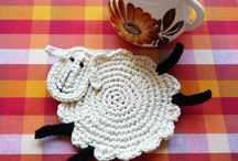 Crochet - sheep