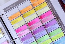 Organisation / Tips & tricks on how to make your life well-organised. I wish I could use them all in my life but I'm afraid it may be too short... ;)