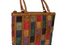 Handmade Leather Bags - Çanta / No Machine.   Handmade Leather Bag - Elde üretilmiş Deri Çanta