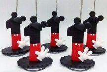 vela simples Mickey