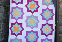 Midnight Mystery Quilts / This board contains different quilter's versions of the Midnight Mystery Quilt, which was a mystery quilt along hosted by Cheryl of Meadow Mist Designs.