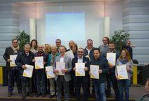 Premiazione Matera 2014 / Il 15 dicembre a Matera sono state premiate presso la Camera di Commercio 12 strutture della provincia.