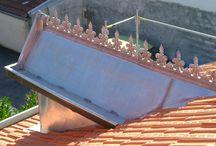 Zinguerie Toiture / Travaux de zinguerie réalisés sur différents chantiers, à Royan et aux alentours.