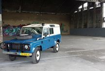 Land Rover One-Ten / Built by www.one-ten.nl for a German customer. EVERY steel part galvanised.