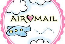 Air and Snail Mail Card Ideas
