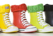 Elvetik / The funky raining days boots!