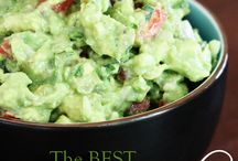 Trempettes - dips / Best guacamole ever