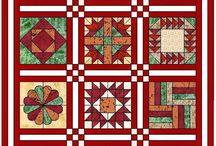 Sampler Quilts / základové neboli sampler quilts