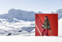 Active Mountain_FW17.18 / Live winter like a playground, without rules or limits. From December trails to February powder to springtime touring, we roam the mountains with light-footed agility and the kick of feeling free. These products deliver total protection from adverse weather and let you move freely.