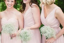 Blush Weddings /  The blushing bride doesn't have to be the only place you see this sweet pink on your big day. Think romantic flowers, lovely bridesmaid dresses, and soft and sweet décor. See how beautiful a blush wedding can be!