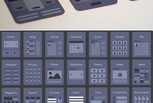 INSPIRATIONS - wireframes